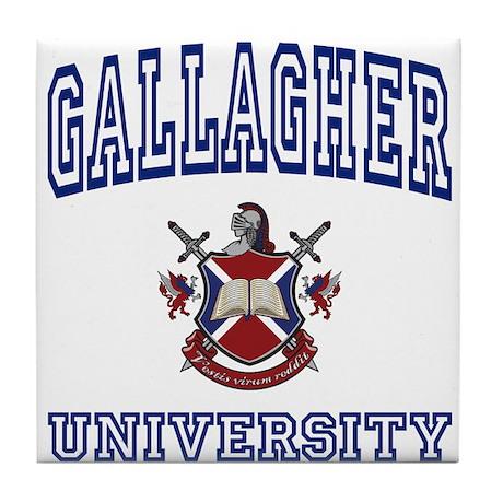 GALLAGHER University Tile Coaster