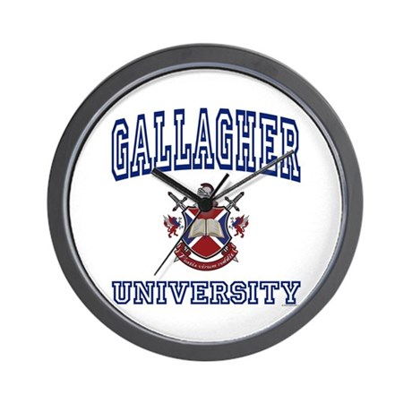 GALLAGHER University Wall Clock