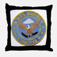 barton patch Throw Pillow