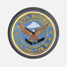 barton patch Wall Clock