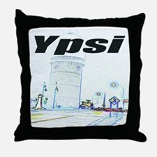 ypsiwatertower2 for shirts Throw Pillow