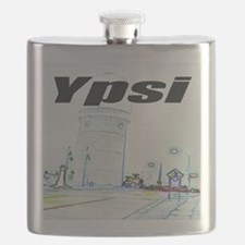 ypsiwatertower2 for shirts Flask