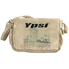 ypsiwatertower2 for shirts Messenger Bag