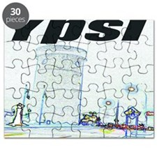 ypsiwatertower2 for shirts Puzzle