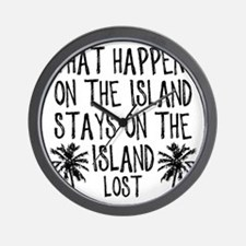 2-what happens on the island Wall Clock