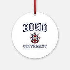 BOND University Ornament (Round)