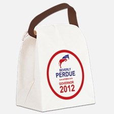 2012_beverly_perdue_main Canvas Lunch Bag