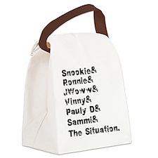 3-jerseyshore3 Canvas Lunch Bag