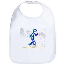 Andrew skier in blue Bib