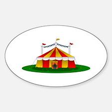 Circus Tent Decal