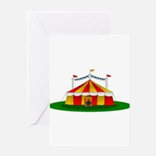 Circus Tent Greeting Cards