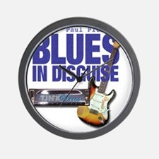 Blues In Disguise for Lite Items LG Wall Clock