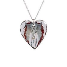 cowskull-2000 Necklace Heart Charm