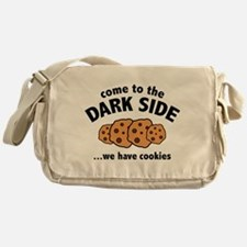 Come To The Dark Side Messenger Bag