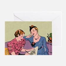 mouse pad_big_2 Greeting Card