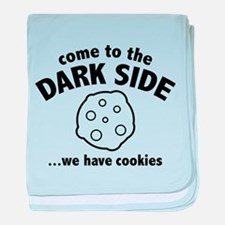 Come To The Dark Side baby blanket