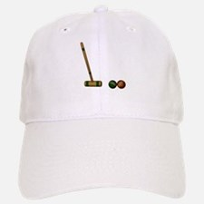 Croquet Game Baseball Baseball Baseball Cap