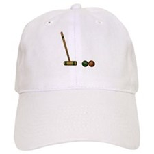 Croquet Game Baseball Baseball Cap