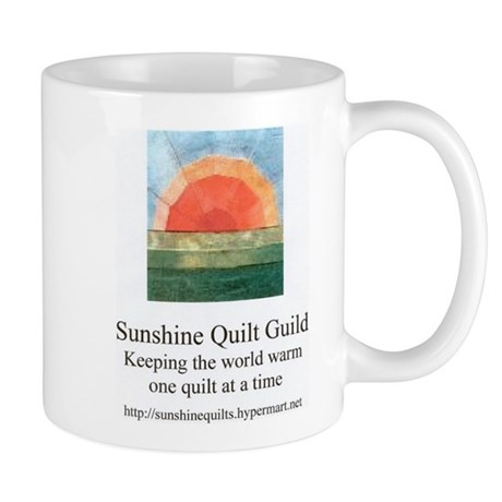 Sunshine Quilt Guild Mug
