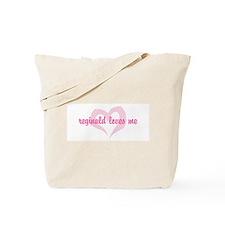 """reginald loves me"" Tote Bag"