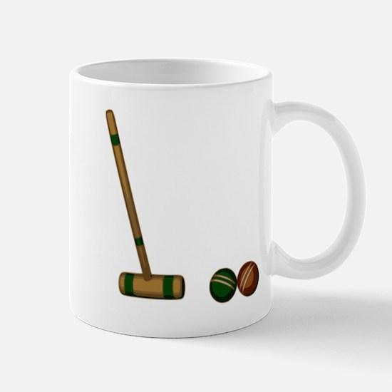 Croquet Game Mugs