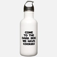 Come To The Dark Side Water Bottle