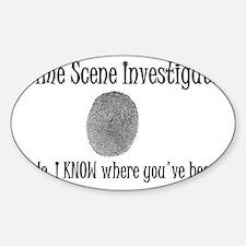 Thumbprint Sticker (Oval)