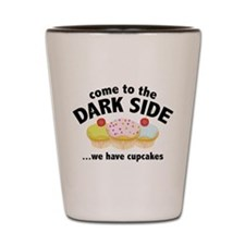 Come To The Dark Side Shot Glass