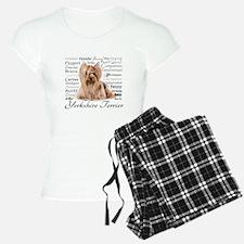 Yorkie Traits Pajamas
