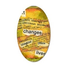 ATCMalchiodiArtChanges 35x21 Oval Wall Decal