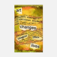 ATCMalchiodiArtChanges Sticker (Rectangle)