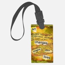 ATCMalchiodiArtChanges Luggage Tag