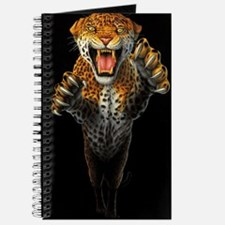Leaping Leopard large Poster Journal