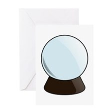 Crystal Ball Greeting Cards