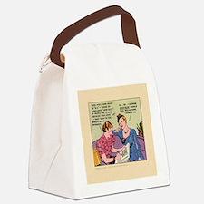 BOX_TILE_bg Canvas Lunch Bag