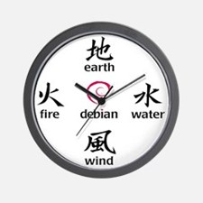 5elements2011 Wall Clock