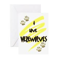werewolves Greeting Card
