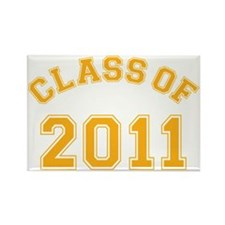 class-of-2011_yellow Rectangle Magnet