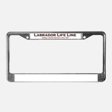 3d text LLL License Plate Frame