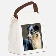 (15) aussie looking left Canvas Lunch Bag