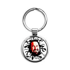 DIRT MONSTER T-SHIRT Round Keychain
