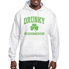 Drunky -green Hoodie