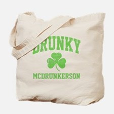 Drunky -green Tote Bag