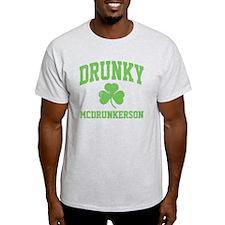 Drunky -green T-Shirt