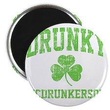 Drunky -green Magnet