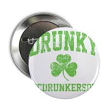 "Drunky -green 2.25"" Button"