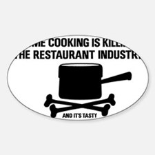 2-homecooking Decal