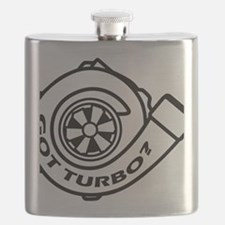boosted white Flask