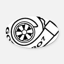GotTurbo Oval Car Magnet