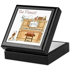 The  Pianist Keepsake Box